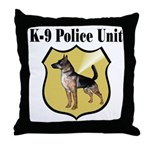 K9 Police Throw Pillow