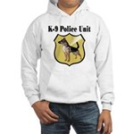 K9 Police Hooded Sweatshirt