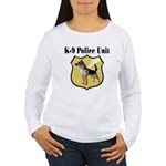 K9 Police Women's Long Sleeve T-Shirt