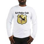 K9 Police Long Sleeve T-Shirt