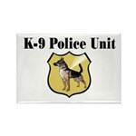 K9 Police Rectangle Magnet (10 pack)