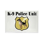 K9 Police Rectangle Magnet (100 pack)