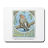 Zebra Finch Mousepad