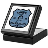 Miner Obama Nation Keepsake Box