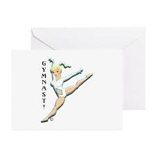 Gymnast! Greeting Cards (Pk of 10)