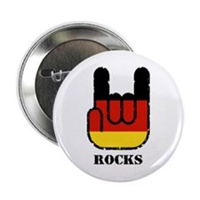 "Germany Rocks 2.25"" Button"