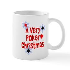 A Very Poker Christmas Mug