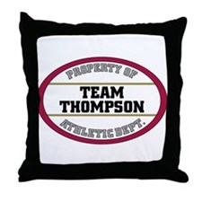 Thompson  Throw Pillow