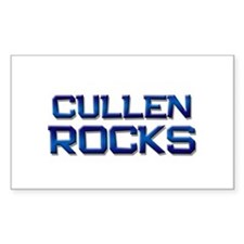cullen rocks Rectangle Decal