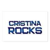 cristina rocks Postcards (Package of 8)