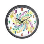 Peace Signs Wall Clock