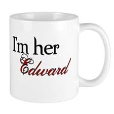 I'm her Edward Twilight Coffee Cup Mug