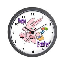 Hopping Bunny Wall Clock