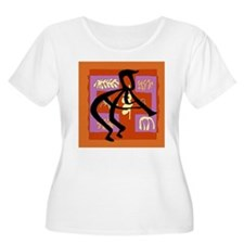 Abstract Jazz Player T-Shirt
