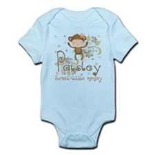 Paisley..Sweet little monkey Infant Bodysuit