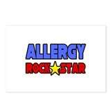 """Allergy Rock Star"" Postcards (Package of 8)"