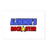 &quot;Alzheimer's Rock Star&quot; Postcards (Package of 8)