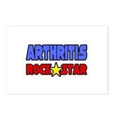 """Arthritis Rock Star"" Postcards (Package of 8)"