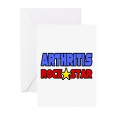 """Arthritis Rock Star"" Greeting Cards (Pk of 10)"