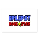 """Epilepsy Rock Star"" Postcards (Package of 8)"