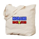 """Migraine Rock Star"" Tote Bag"
