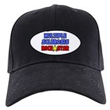 """Multiple Sclerosis RockStar"" Baseball Hat"