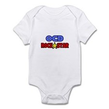 """OCD Rock Star"" Infant Bodysuit"