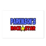 """Parkinson's Rock Star"" Postcards (Package of 8)"