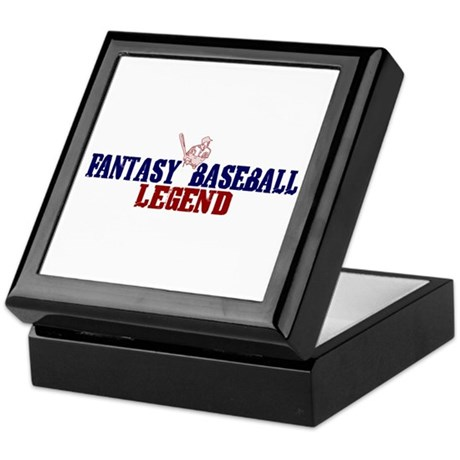 Fantasy Baseball Legend (2009) Keepsake Box