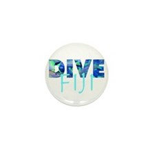 Dive Fiji Mini Button (10 pack)