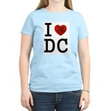 Cute I love dc T-Shirt