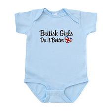 British Girls Do It Better Infant Bodysuit