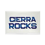cierra rocks Rectangle Magnet