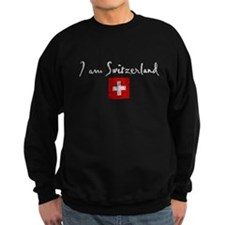 I am Switzerland Distressed Sweatshirt