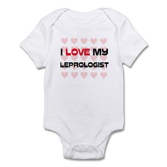 I Love My Leprologist Infant Bodysuit