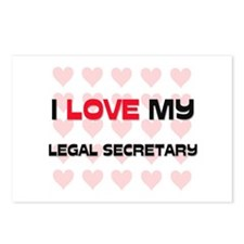 I Love My Legal Secretary Postcards (Package of 8)