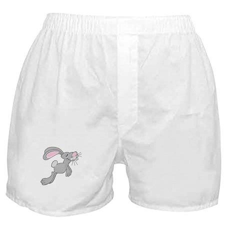 Hopping Easter Bunny Boxer Shorts