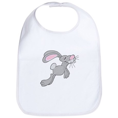 Hopping Easter Bunny Bib