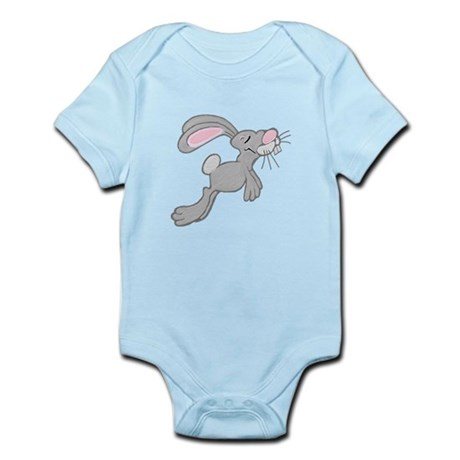 Hopping Easter Bunny Infant Bodysuit
