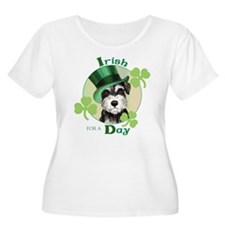 St. Patrick Miniature Schnauzer T-Shirt