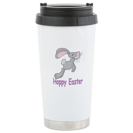 Hoppy Easter Ceramic Travel Mug