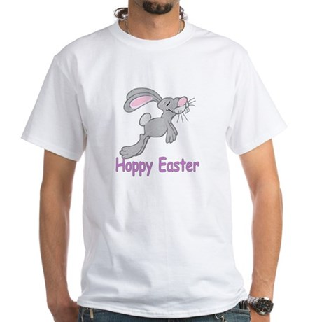 Hoppy Easter White T-Shirt