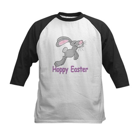 Hoppy Easter Kids Baseball Jersey