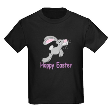 Hoppy Easter Kids Dark T-Shirt