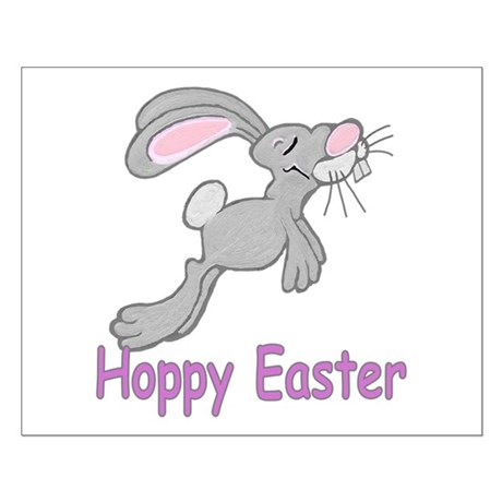 Hoppy Easter Small Poster
