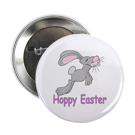 "Hoppy Easter 2.25"" Button"