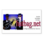 'Hatbag Blues' Sticker