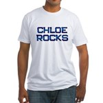 chloe rocks Fitted T-Shirt