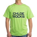chloe rocks Green T-Shirt