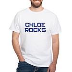 chloe rocks White T-Shirt
